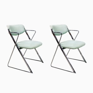 Mid-Century Folding Chairs by Ernest Race, 1960s, Set of 2