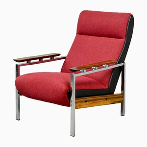 Mid-Century Dutch Lounge Chair by Rob Parry for De Ster Gelderland, 1960s
