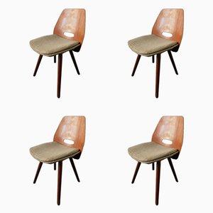 Stühle von Frantisek Jirak für Tatra, 1960er, 4er Set