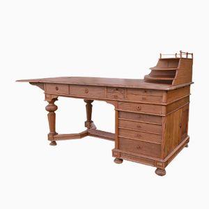 Antiker Schwedischer Schreibtisch aus Eiche, 1900er