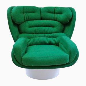 Vintage ELDA Armchair by Joe Colombo for Comfort Italy