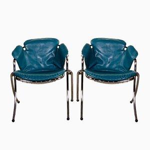 Vintage Italian Lynn Dining Chairs by Gastone Rinaldi for RIMA