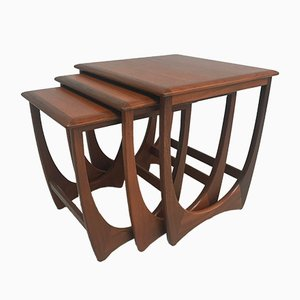 Mid-Century Teak Nesting Tables from G-Plan