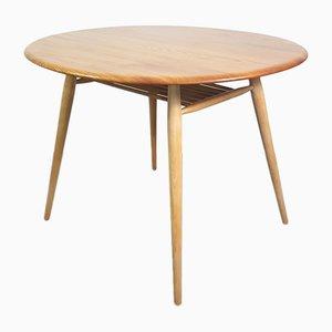 Tavolo in olmo di Lucian Ercolani per Ercol, anni '60