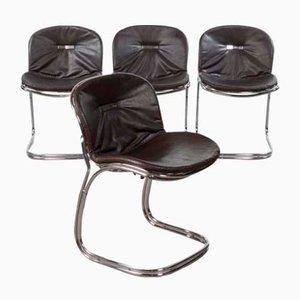 Vintage Sabrina Esszimmer Stühle von Gastone Rinaldi für RIMA, 4er Set