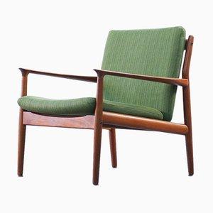 Teak Armchair by Grete Jalk for Glostrup, 1960s