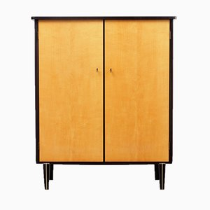 Bicoloured Maple Linen Cupboard, 1950s