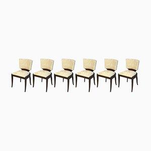 Art Deco Stühle, 1930er, 6er Set