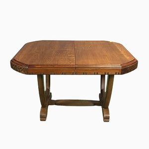 Art Deco Table with Extensions
