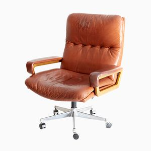 King Chair Office Chair by Andre Vandenbeuck for Strässle, 1960s