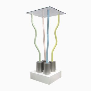 The Tremano Structures Console Table by Ettore Sottsass for Belux, 1979