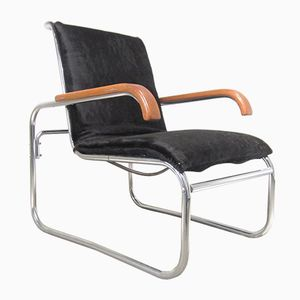 Vintage B35 Armchair by Marcel Breuer for Thonet