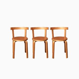 Dining Chairs by Alvar Aalto, 1960s, Set of 3