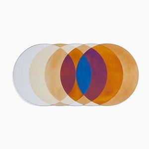 Grand Miroir Transience Circles par David Derksen & Lex Pott pour Transnatural