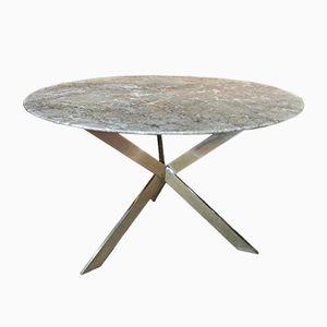 Circular Marble Table, 1970s