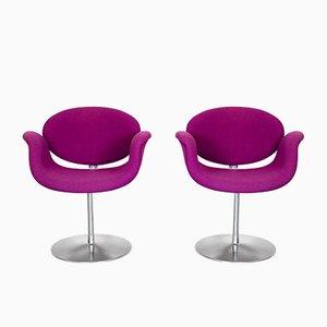 Kleine Tulip Stühle von Pierre Paulin für Artifort, 1970er, 2er Set
