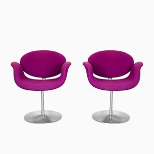Small Tulip Chairs by Pierre Paulin for Artifort, 1970s, Set of 2