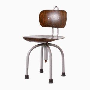 Höhenverstellbarer Stuhl, 1950er