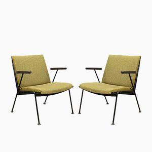 Niederländische Vintage Oase Sessel von Wim Rietveld für Ahrend De Cirkel, 2er Set