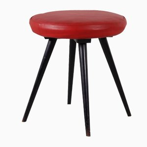 Vintage Footstool from Thonet, 1950s