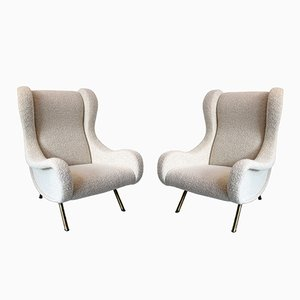 Senior Armchairs by Marco Zanuso for Arflex, 1950s, Set of 2