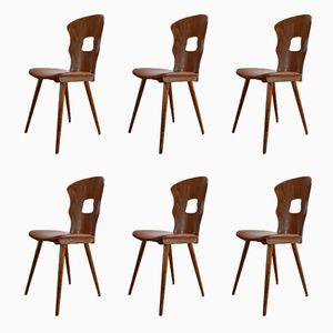 Gentian Esszimmerstühle von Baumann, 1950er, 6er Set