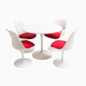 Juego de comedor Mid-Century de Eero Saarinen para Knoll Inc, años 50