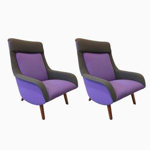 Modell 400 Sessel von Brengt Ruda für Artifort, 1961, 2er Set