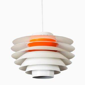Verona Pendant Lamps by Svend Middelboe for Nordisk Solar, 1960s, Set of 2
