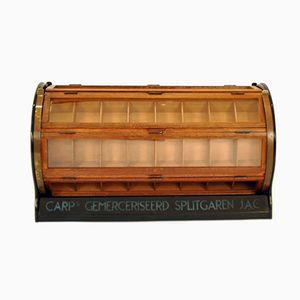 Dutch Sewing Box from Carp's Gemerceriseerd Splitgaren J.A.C., 1930s
