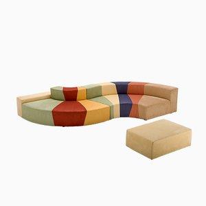 Zweiteiliges Multilove Sofa von Space Time für Giovannetti