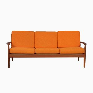 Mid-Century Model 118 3-Seater Sofa by Grete Jalk for France & Son