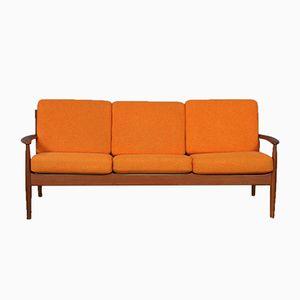 Mid-Century Modell 118 3-Sitzer Sofa von Grete Jalk für France & Son