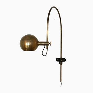 Brass Wall-Mounted Arc Lamp from Cosack, 1960s