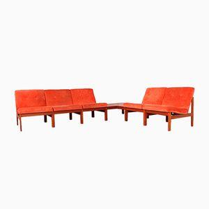 Modulares Sofa von Ole Gjerløv-Knudsen & Torben Lind für France & Søn, 1960er