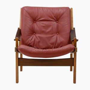 Hunter Lounge Chair by Torbjørn Afdal for Bruksbo, 1950s