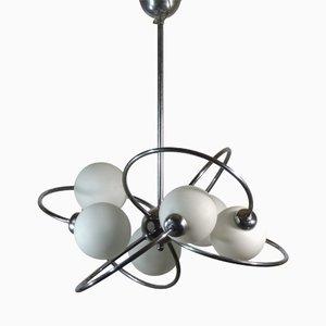 Lampada da soffitto Sputnik Space Age, anni '70