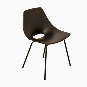 Französischer Mid-Century Amsterdam Stuhl von Pierre Guariche für Steiner, 1954
