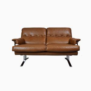 Schwedisches Mid-Century 2-Sitzer Sofa von Arne Norell für Vatne Møbler, 1960er