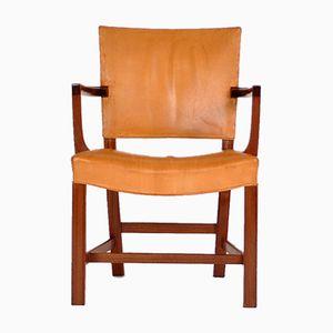 Vintage The Red Chair von Kaare Klint für Rud. Rasmussen