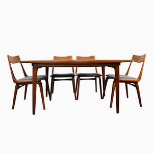 Boomerang Model 371 Teak Dining Set by Erik & Alfred Christensen for Slagelse Møbelværk, 1960s