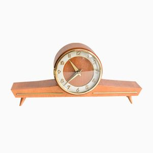 Mid-Century German Mantle Clock, 1960s