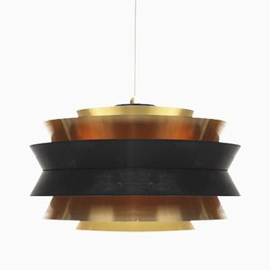 Mid-Century Swedish Pendant Lamp by Carl Thore for Granhaga Metallindustri, 1950s