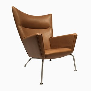 Mid-Century Model CH445 Wing Chair by Hans J. Wegner for Carl Hansen & Søn