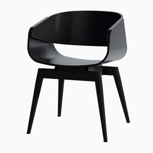 4th Armchair Color in Black by Almost