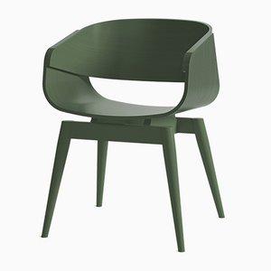 Sedia 4th Armchair verde di Almost