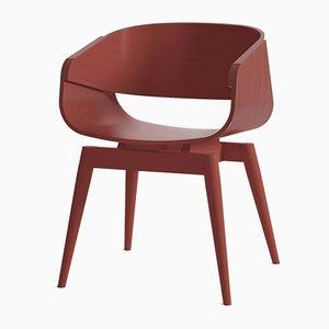 Fauteuil 4th Armchair Color en Rouge par Almost