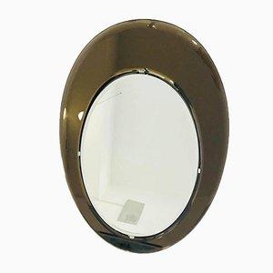 Ovaler Spiegel von Max Ingrand für Fontana Arte, 1970er