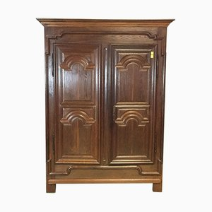 18th-Century Oak Wardrobe