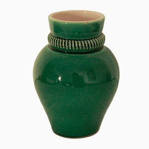 Französische Vintage Vase von Pol Chambost, 1940er
